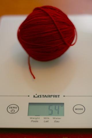 Remaining wool = 54 grams