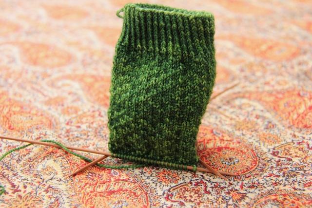 Tosh Sock in Jade.