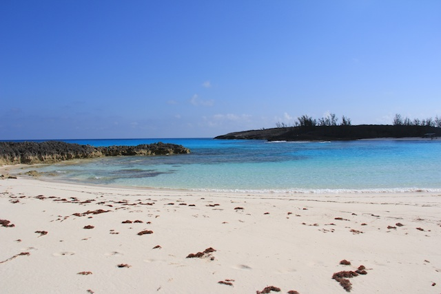 Ben Bay Beach (at the northern tip of the island) was an amazing beach.