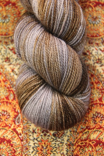 And, because it's silly to order one skein of yarn all the way from Ireland, Twist Sock in Unforgiven.