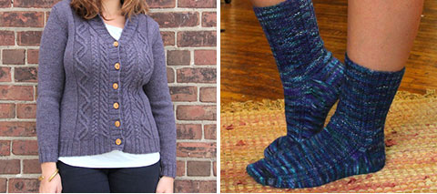 Burrard cardigan, Stepping-Stones (again!)