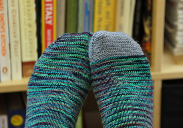 Plain Koigu socks