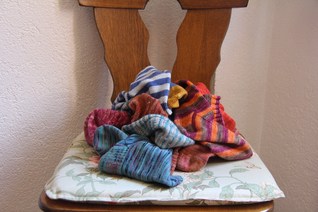 It probably goes without saying that handknit socks are a staple. They saw me through hiking, sightseeing, and just hanging around the apartment. They are the absolute best.